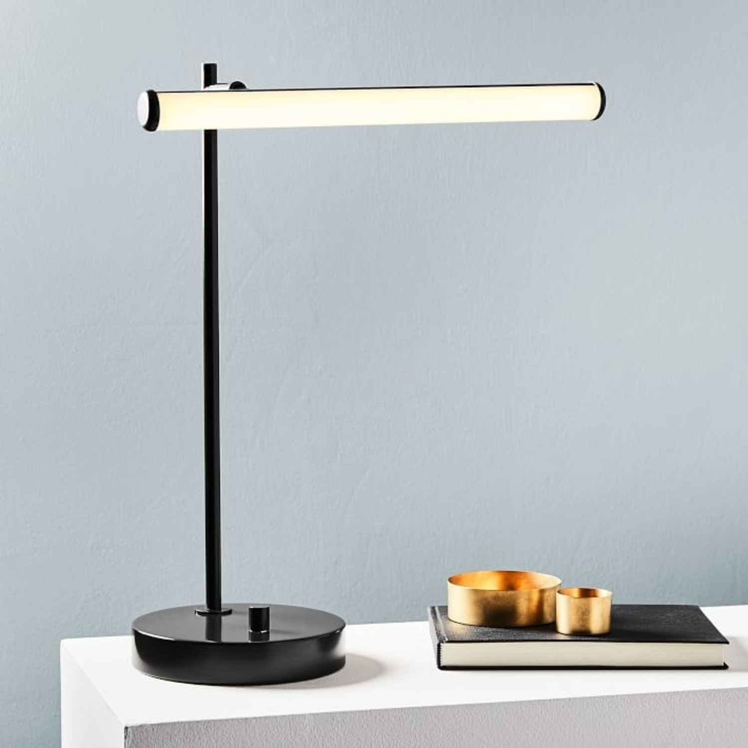 West Elm Light Rods LED & USB Table Lamp - image-1