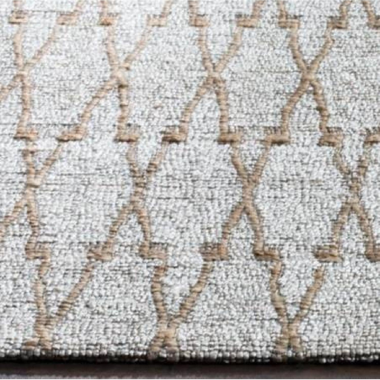 Safavieh Geometric Handmade Flatweave Silver/Natural Rug - image-2
