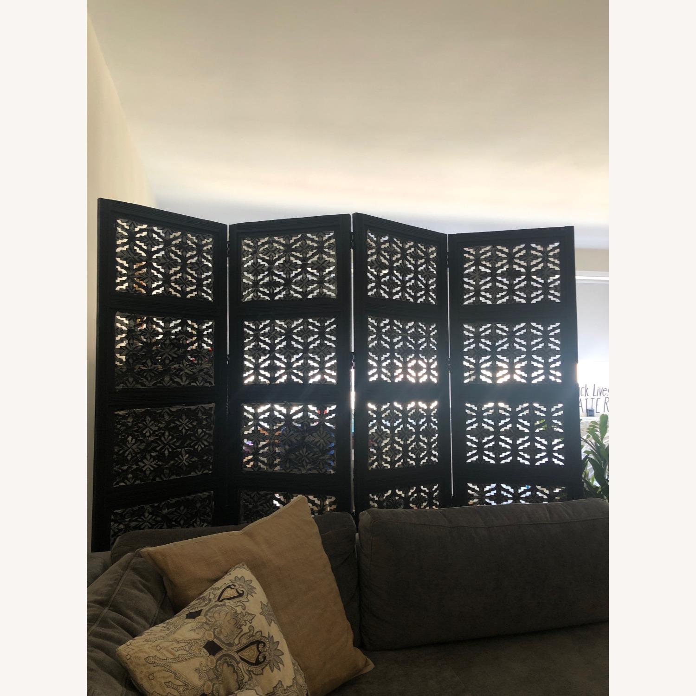 Wayfair 4 Panel Wood Room Divider - image-3