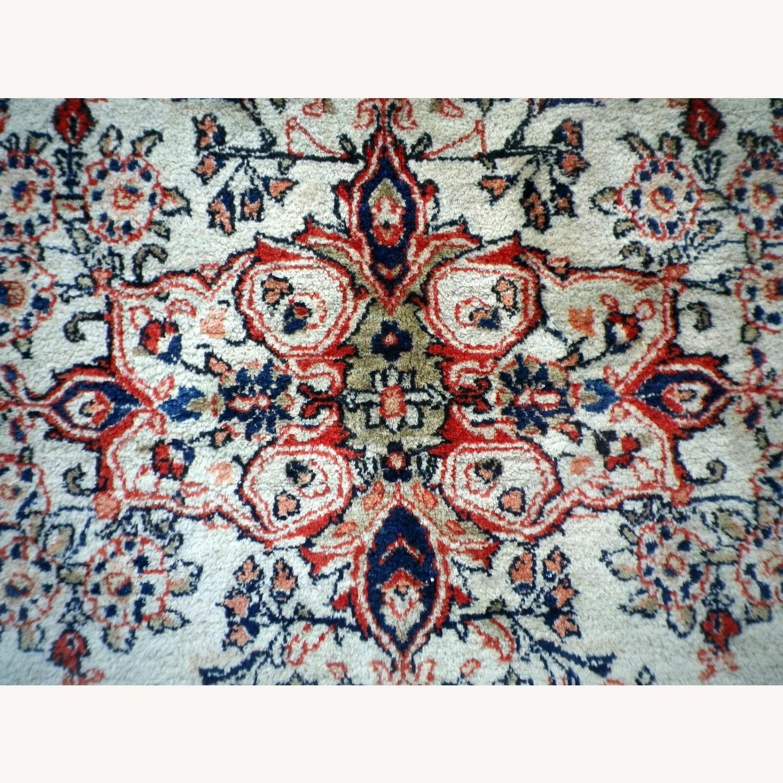 Handmade Vintage Persian Mahal Rug - image-5