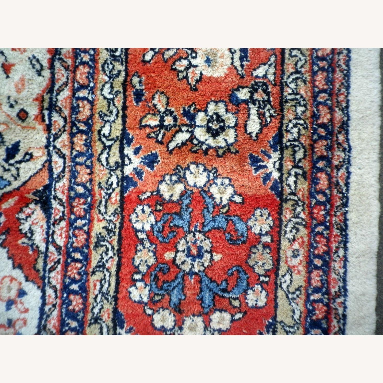 Handmade Vintage Persian Mahal Rug - image-3