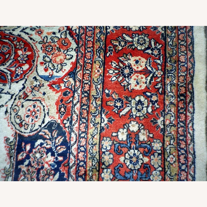 Handmade Vintage Persian Mahal Rug - image-6