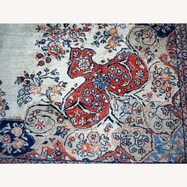 Handmade Vintage Persian Mahal Rug - image-8