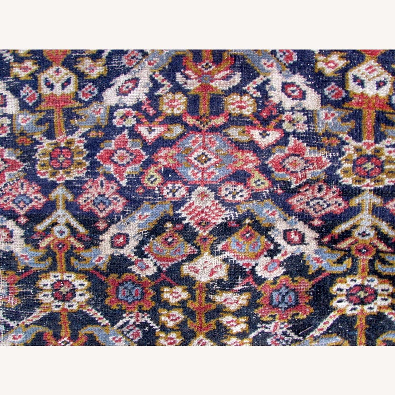 Handmade Antique Persian Hamadan Distressed Rug - image-4