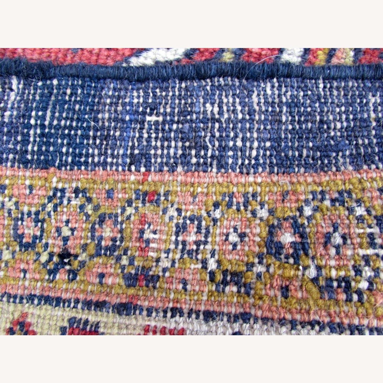 Handmade Antique Persian Hamadan Distressed Rug - image-10
