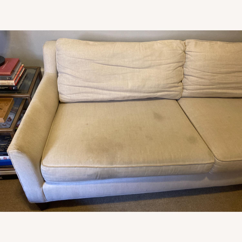 "Pottery Barn 80"" Sofa - Beverly Upholstered - image-1"