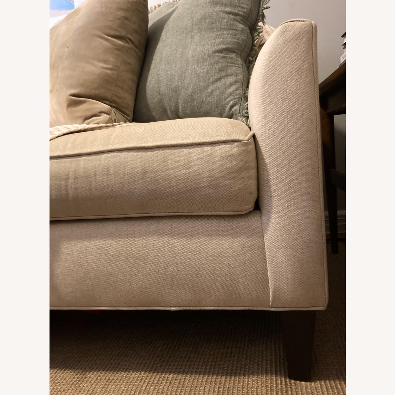 "Pottery Barn 80"" Sofa - Beverly Upholstered - image-4"