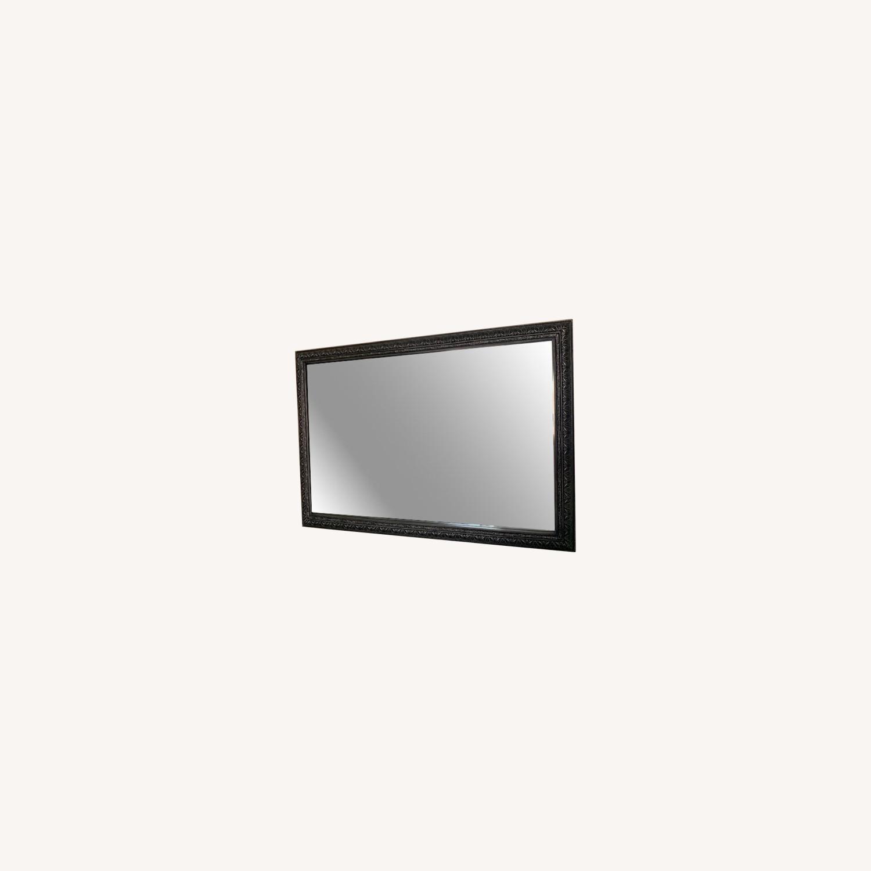 Pottery Barn Beveled Wall Mirror - image-3
