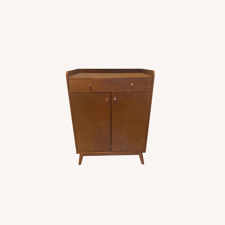 Target Mid Century Bar Storage Cabinet - image-0