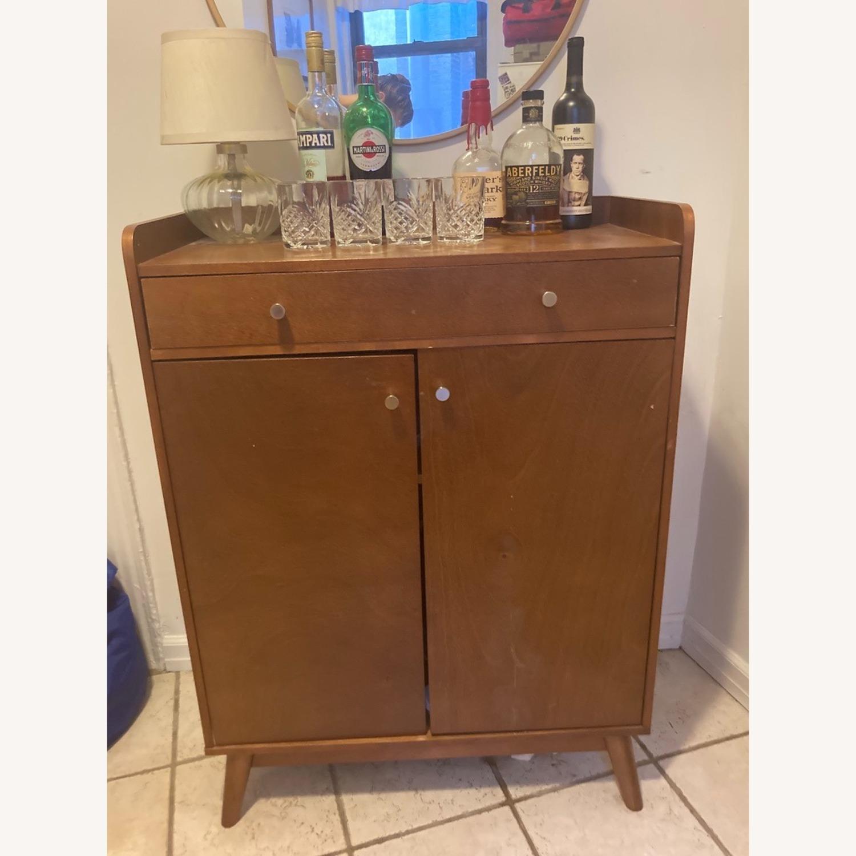 Target Mid Century Bar Storage Cabinet - image-1