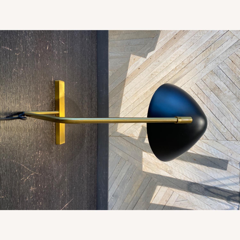 West Elm Curvilinear Mid-Century Table Lamp - AptDeco