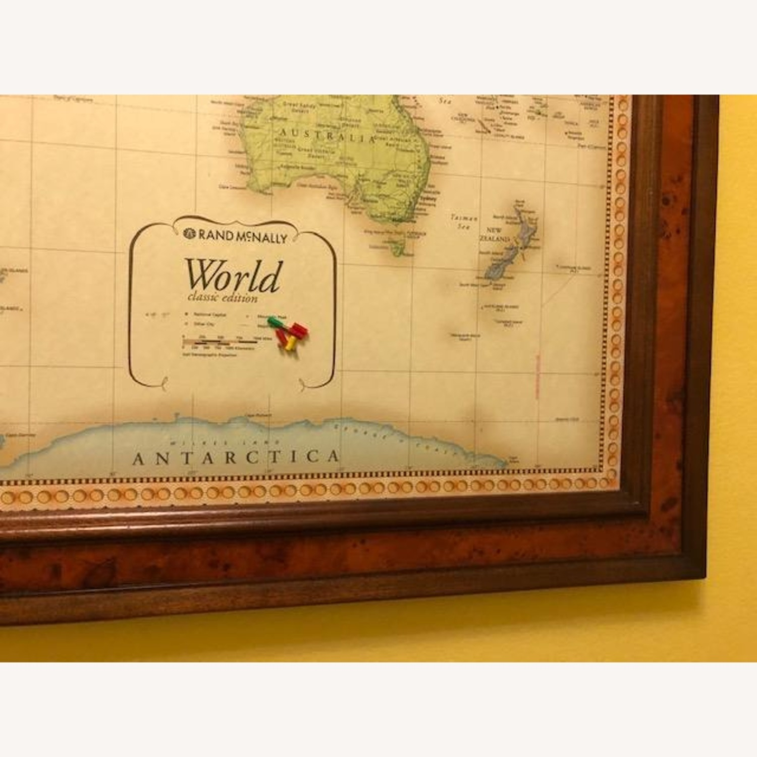 Frontgate Antique World Map - image-3