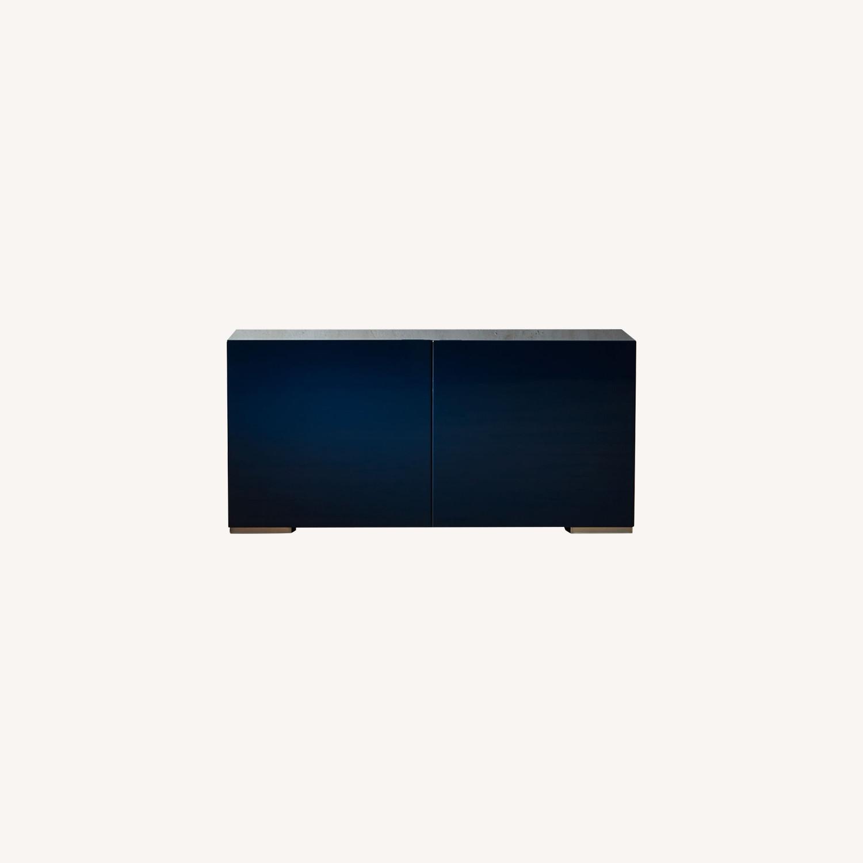 CB2 Modern Blue Credenza - image-0