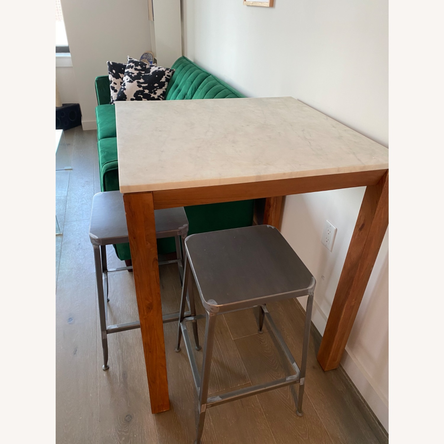 CB2 Hightop and Chairs - image-1