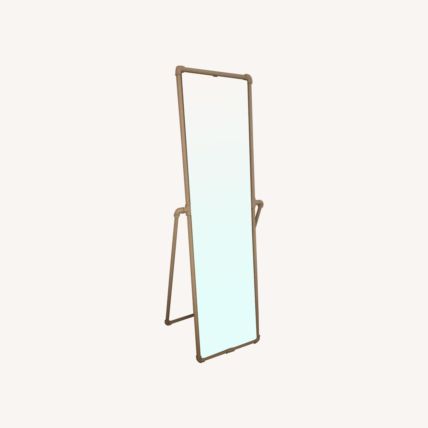Urban Outfitters Industrial Pipe Standing Full-length Mirror - image-0