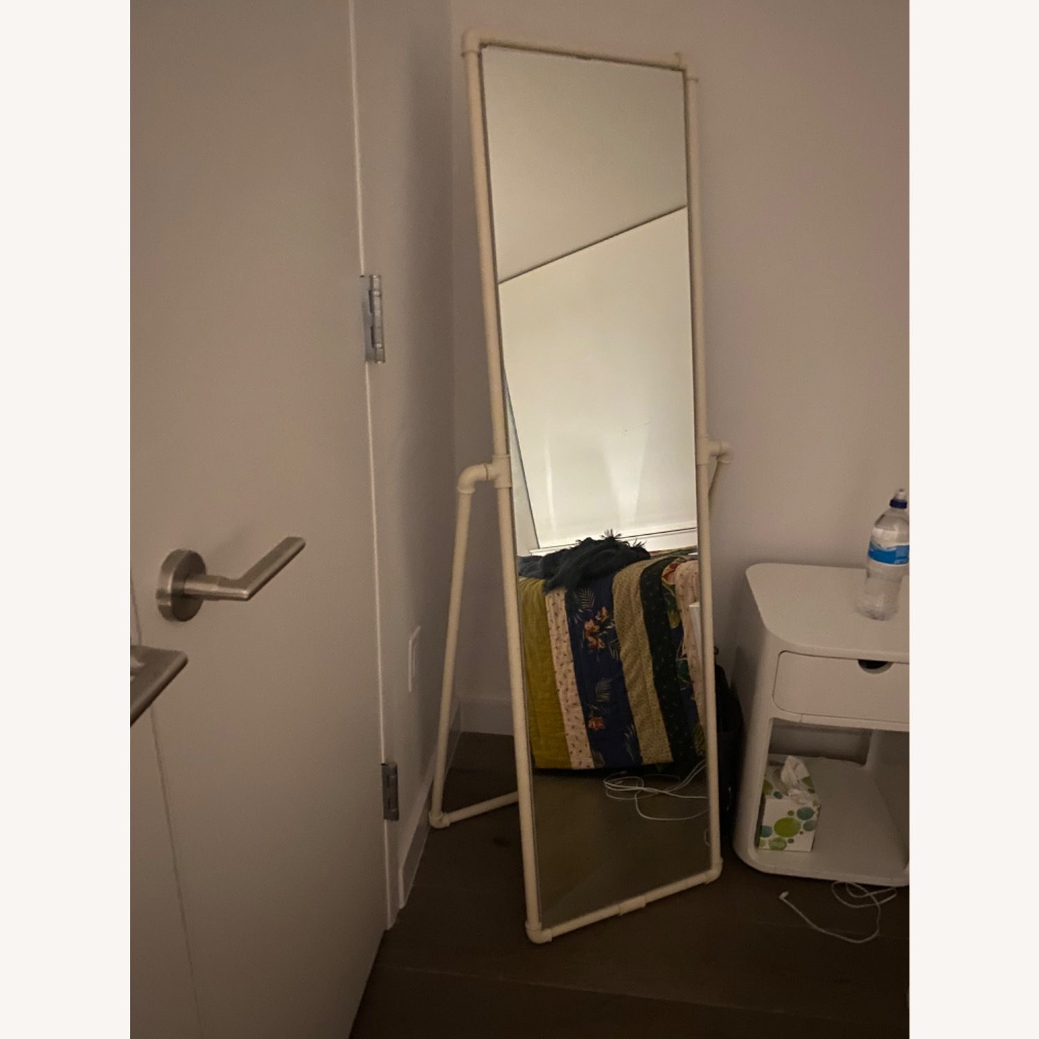 Urban Outfitters Industrial Pipe Standing Full-length Mirror - image-2