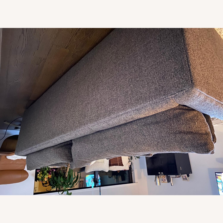 "Crate & Barrel Lounge II 93"" Sofa - image-5"