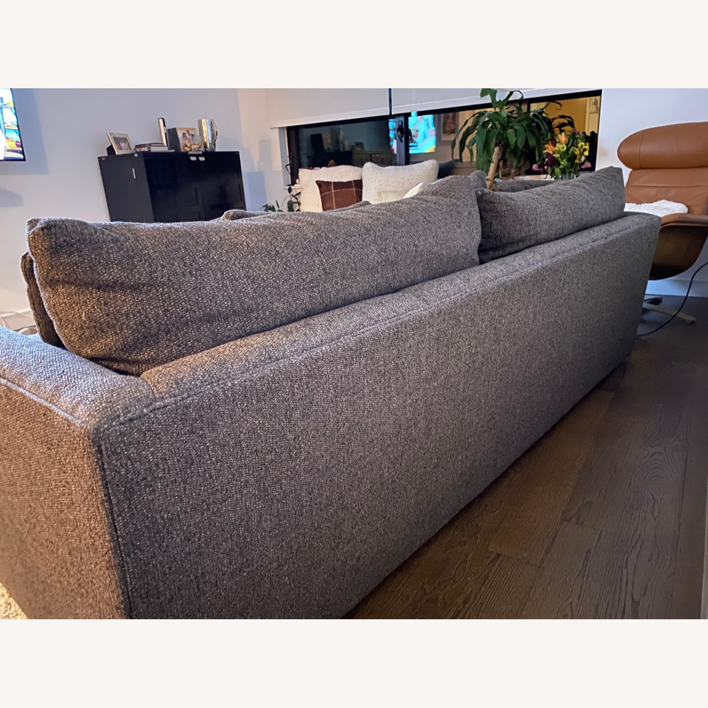 "Crate & Barrel Lounge II 93"" Sofa - image-2"