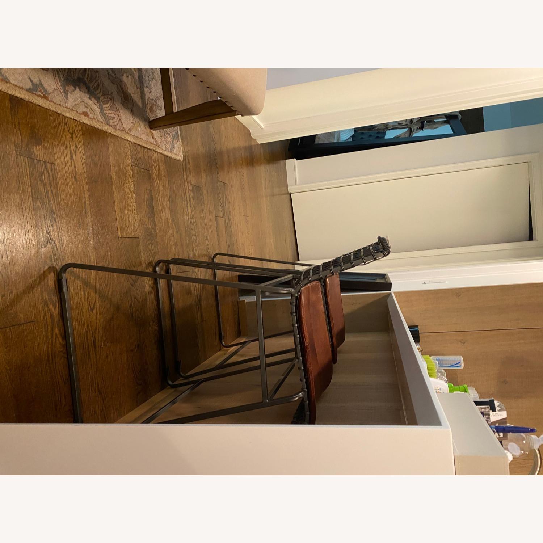 Crate & Barrel Bar Stools - image-4