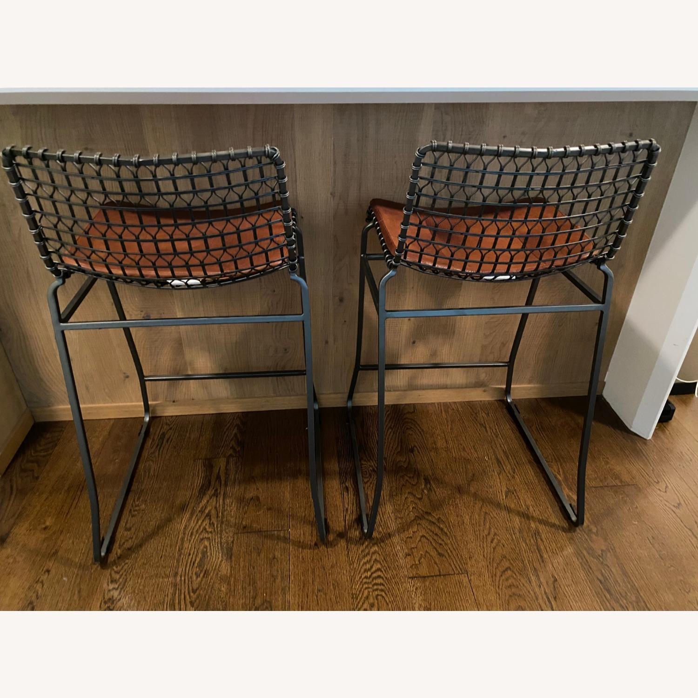 Crate & Barrel Bar Stools - image-3