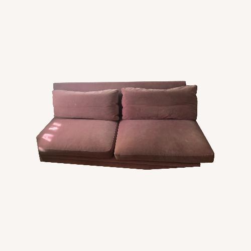 Used ABC Home Pink Sofa for sale on AptDeco