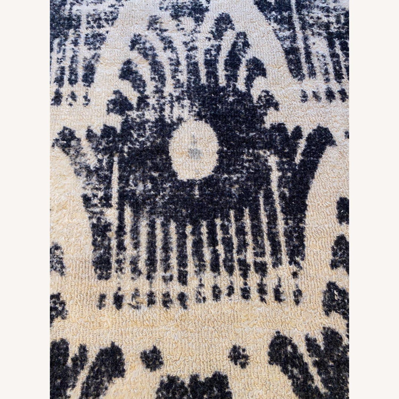 West Elm Floating Ikat Wool Rug - image-3