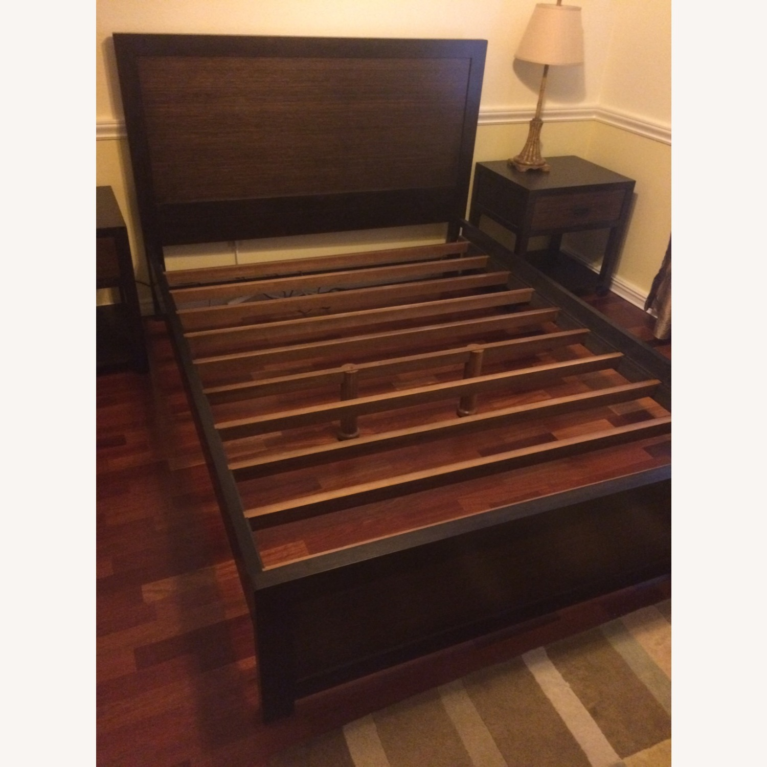 Crate and Barrel Bed Frame - image-3