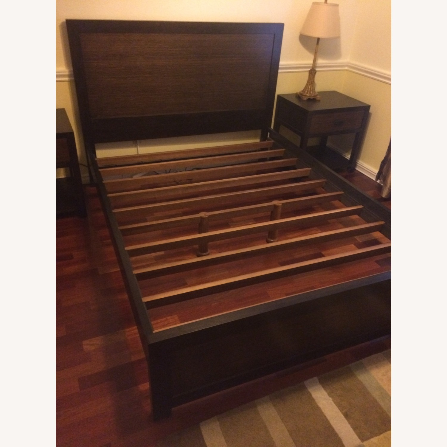 Crate and Barrel Bed Frame - image-7