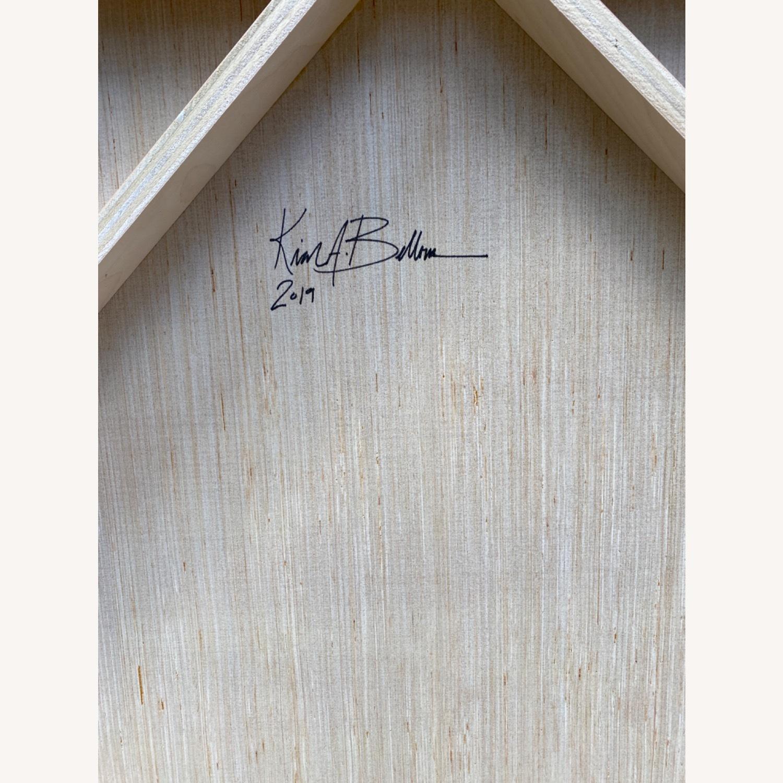 Original Wooden Panel Painting - image-5