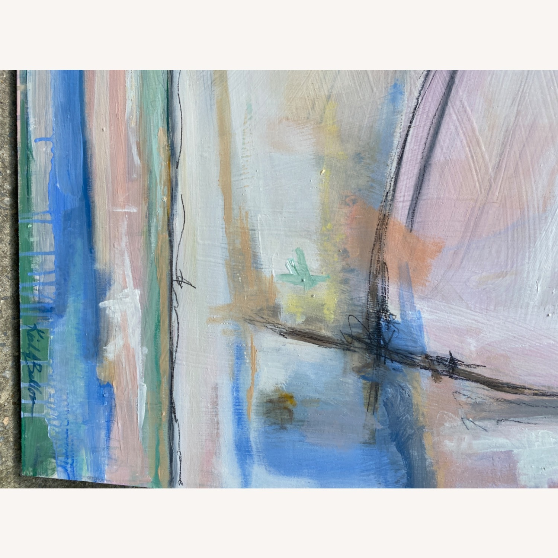 Original Wooden Panel Painting - image-6