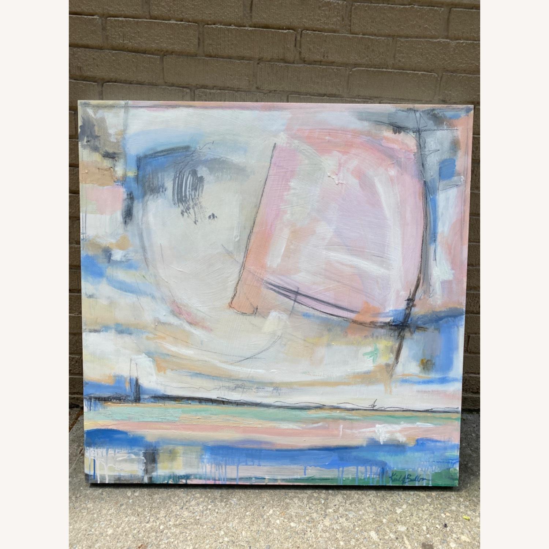 Original Wooden Panel Painting - image-2