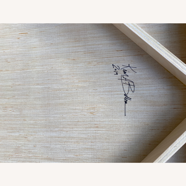 Original Wooden Panel Painting - image-8