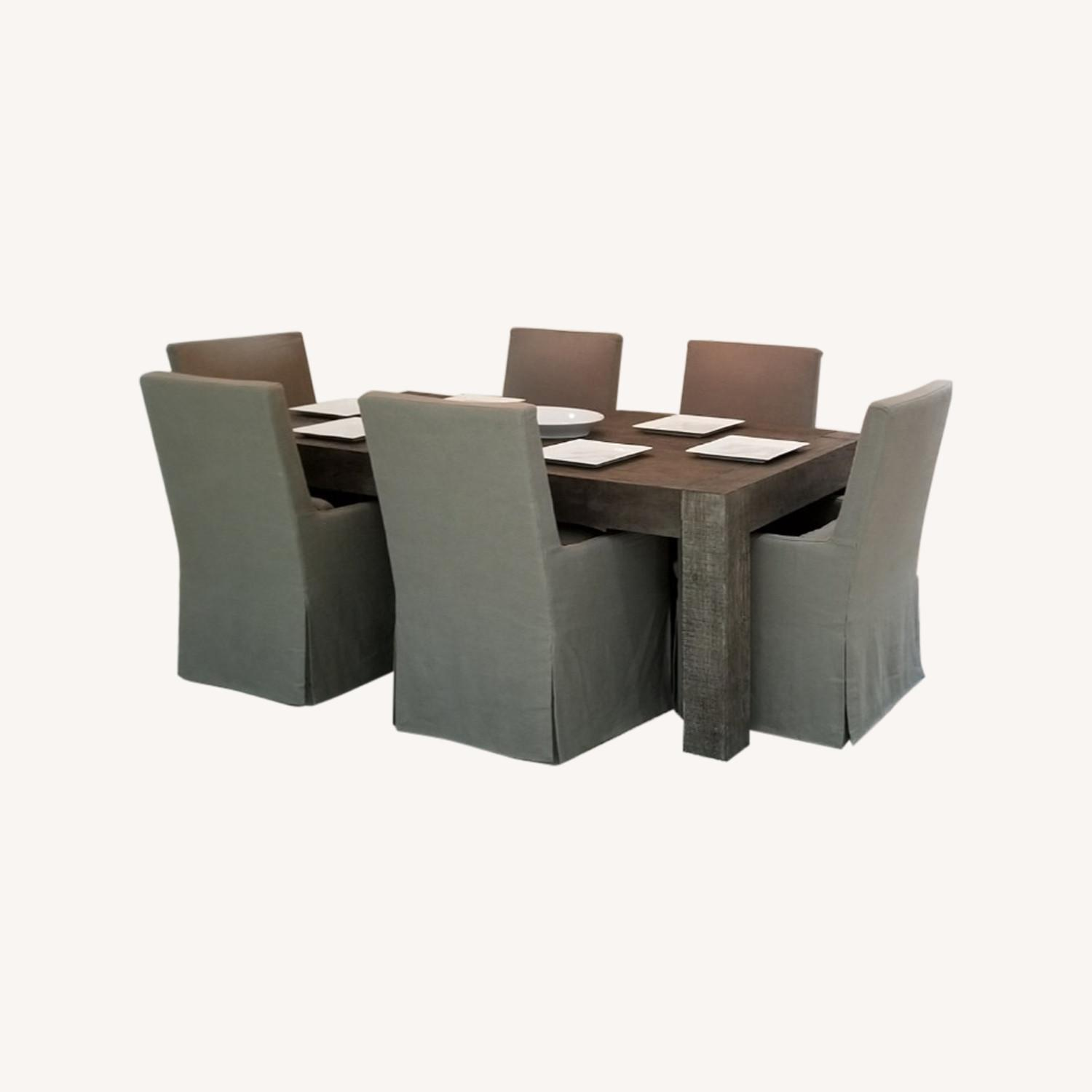 Restoration Hardware Monterey Dining Set - image-0