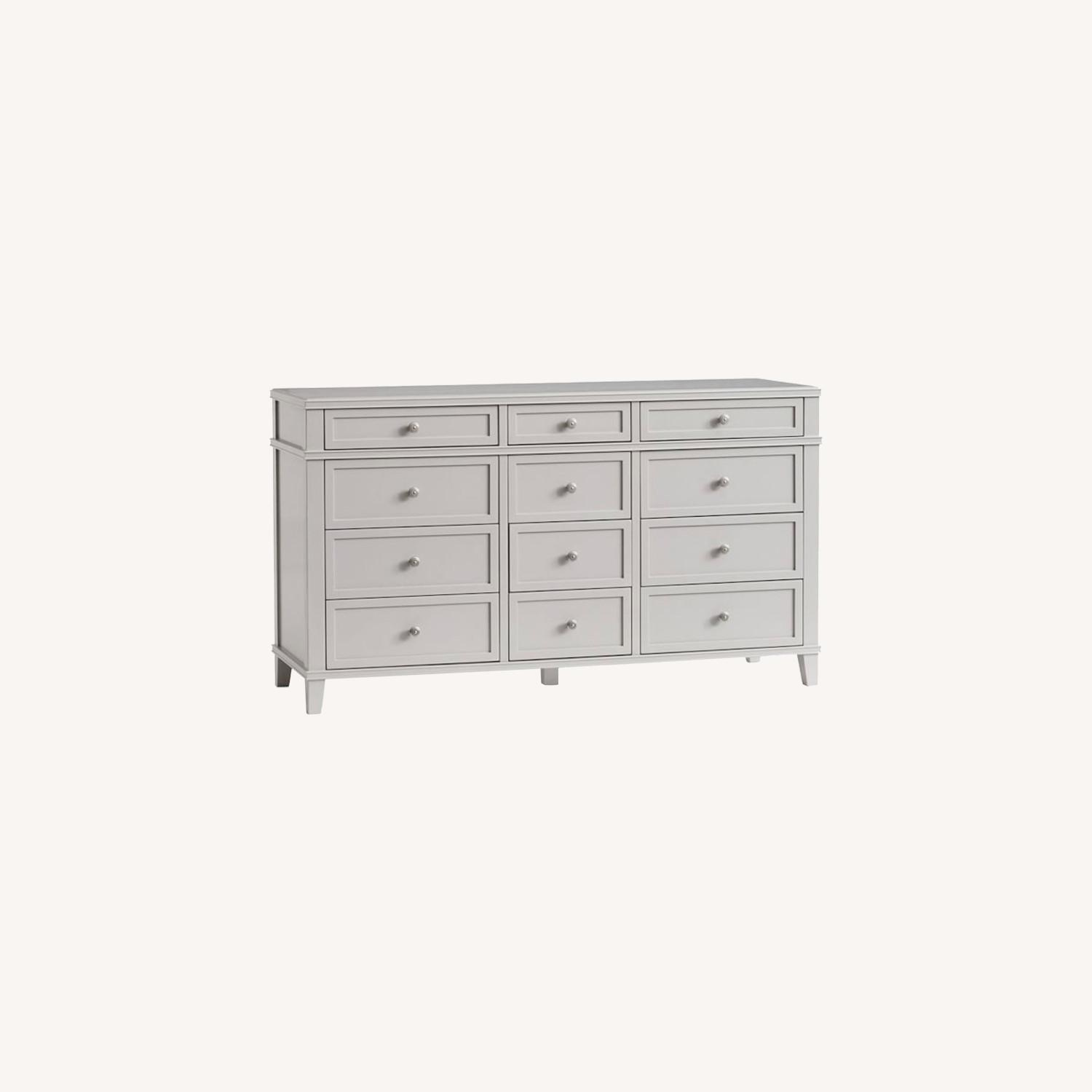 Pottery Barn 12 Drawer Extra Wide Dresser - image-0
