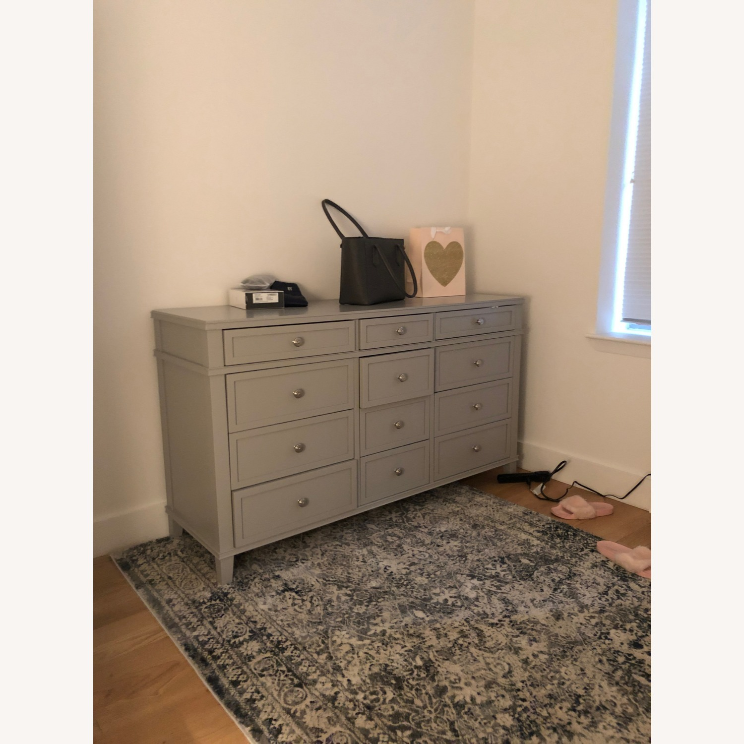 Pottery Barn 12 Drawer Extra Wide Dresser - image-3