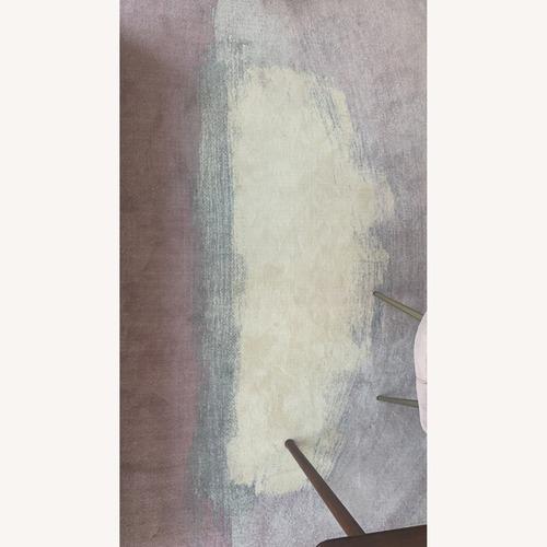 Used West Elm Painted Terrace Rug for sale on AptDeco