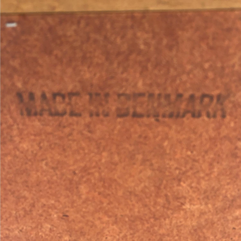 Vintage Teak Wall Mirror - image-5