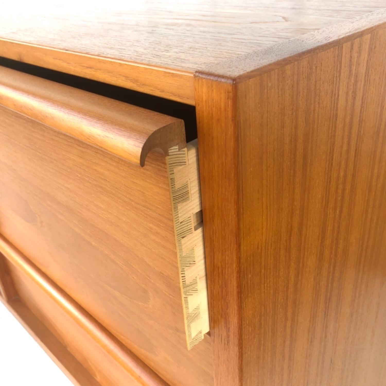 Scandinavian Modern Teak Dresser - image-9
