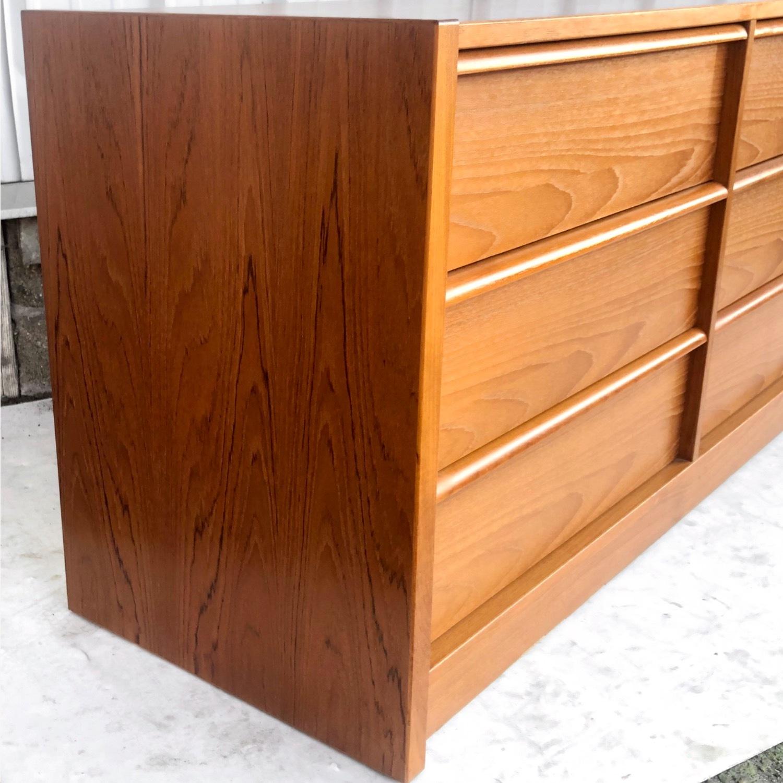 Scandinavian Modern Teak Dresser - image-8