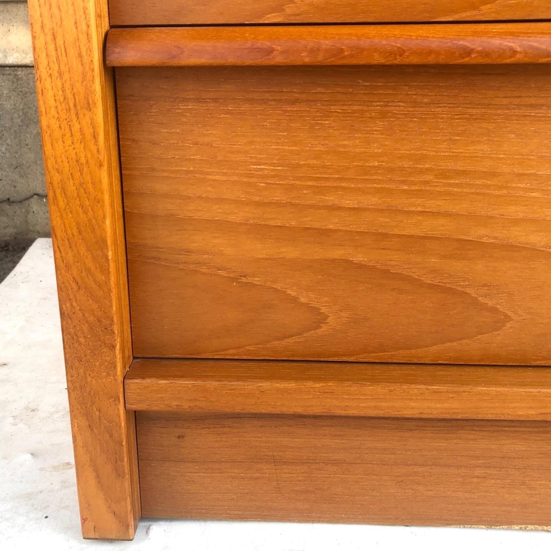 Scandinavian Modern Teak Dresser - image-10