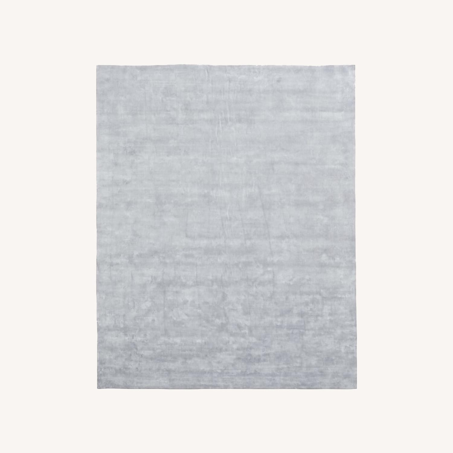 West Elm Frost Gray Lucent Rug - image-0
