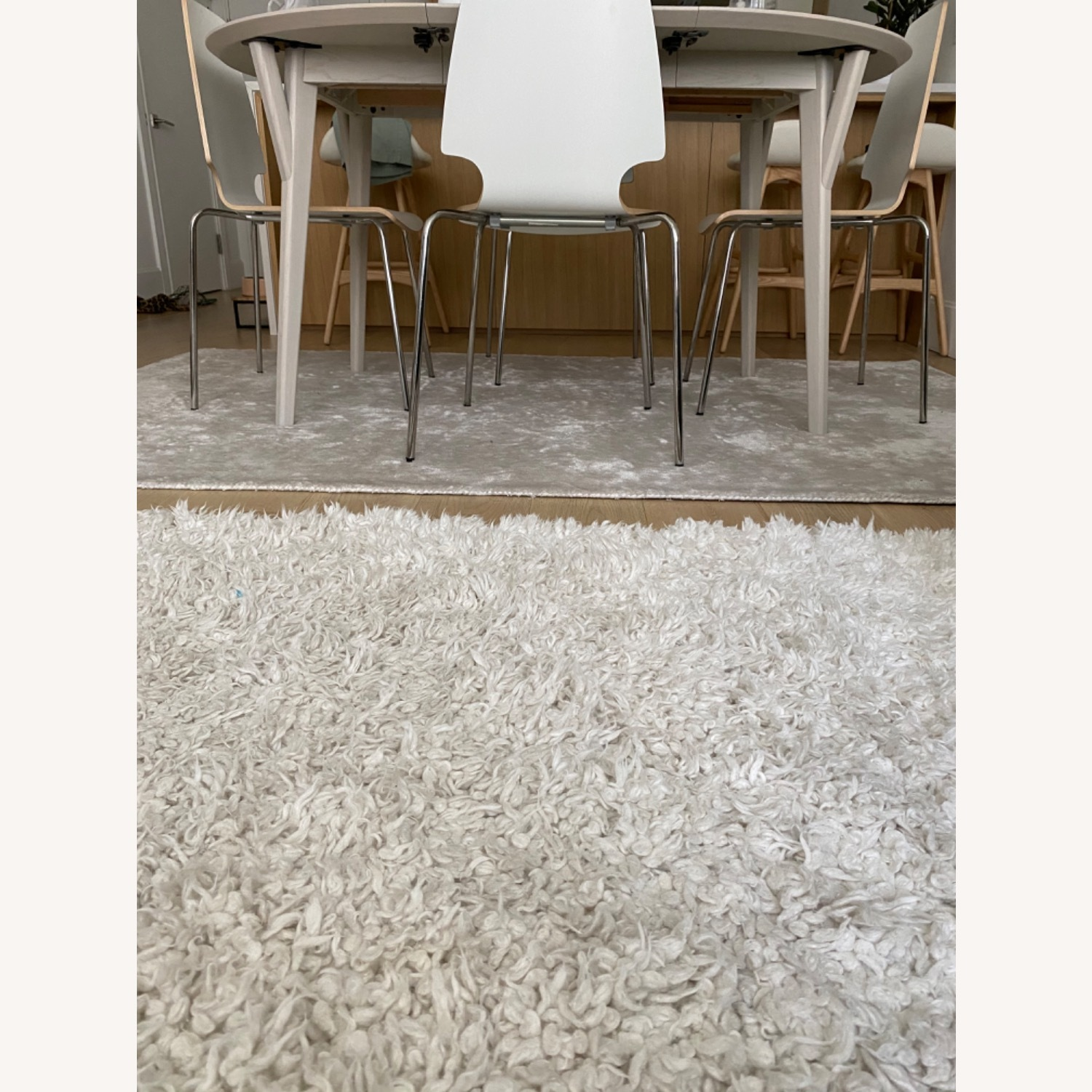 West Elm Frost Gray Lucent Rug - image-2