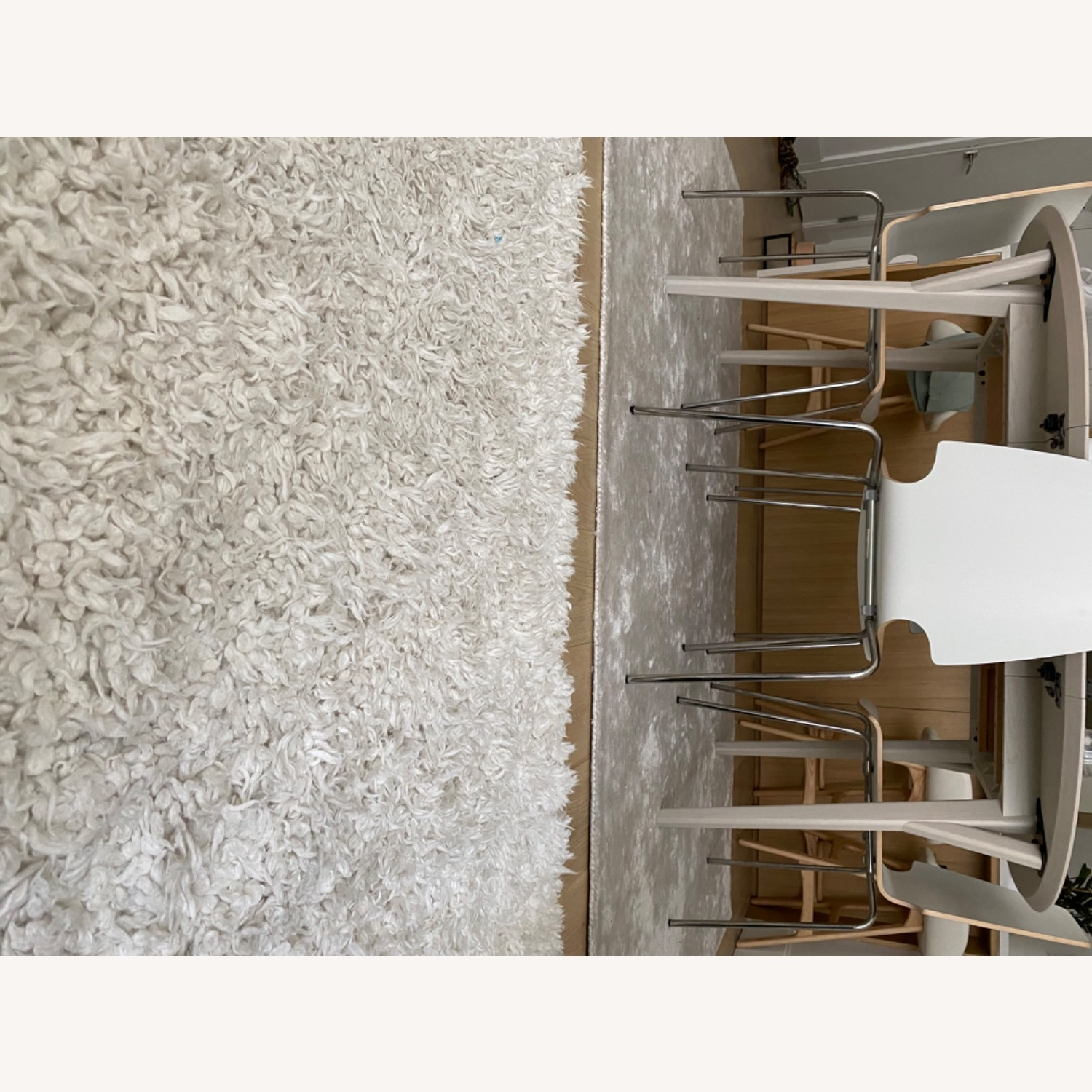 West Elm Frost Gray Lucent Rug - image-4