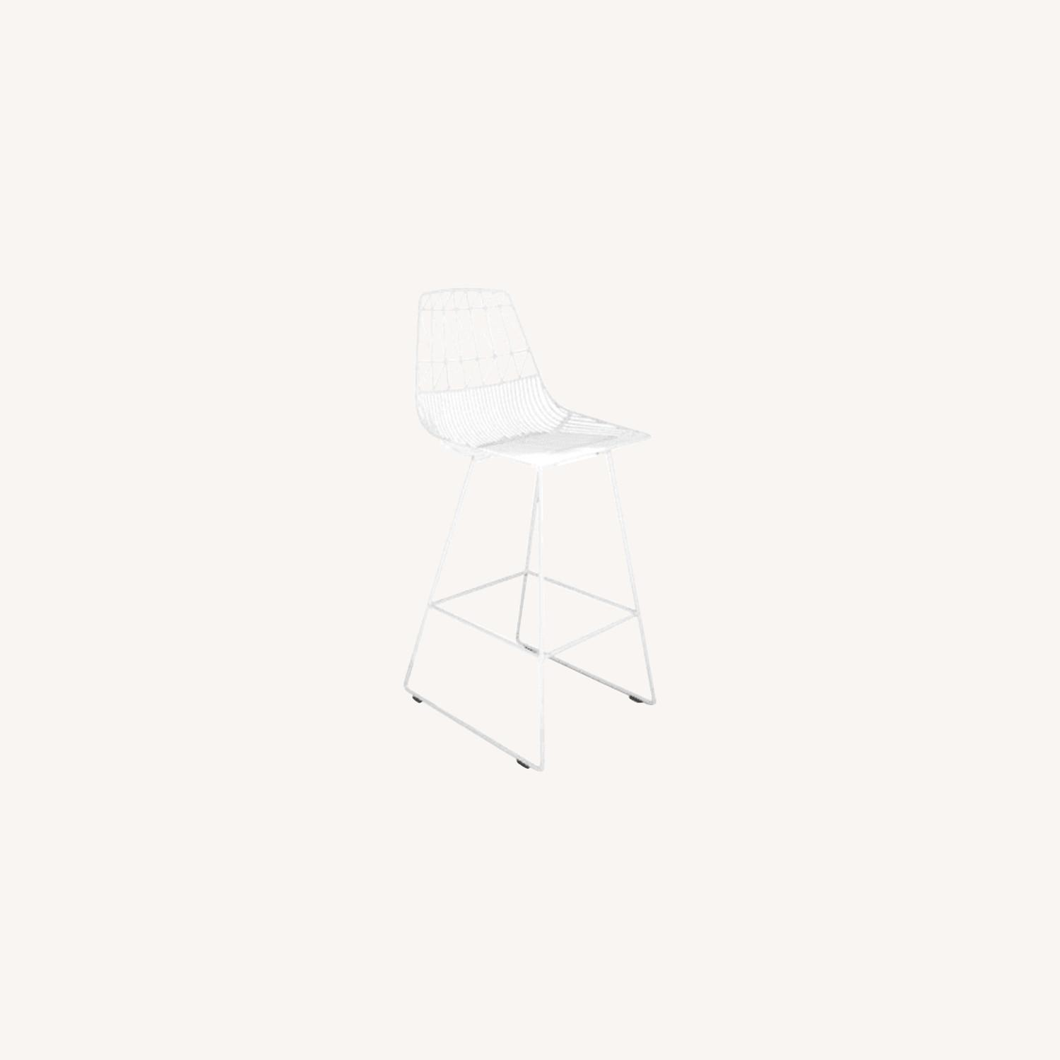 Bend Goods Replica Lucy Wire Stools x 2 - image-0