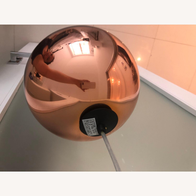 Tom Dixon Copper Pendant Light - image-3