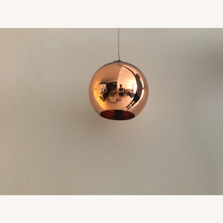 Tom Dixon Copper Pendant Light - image-1