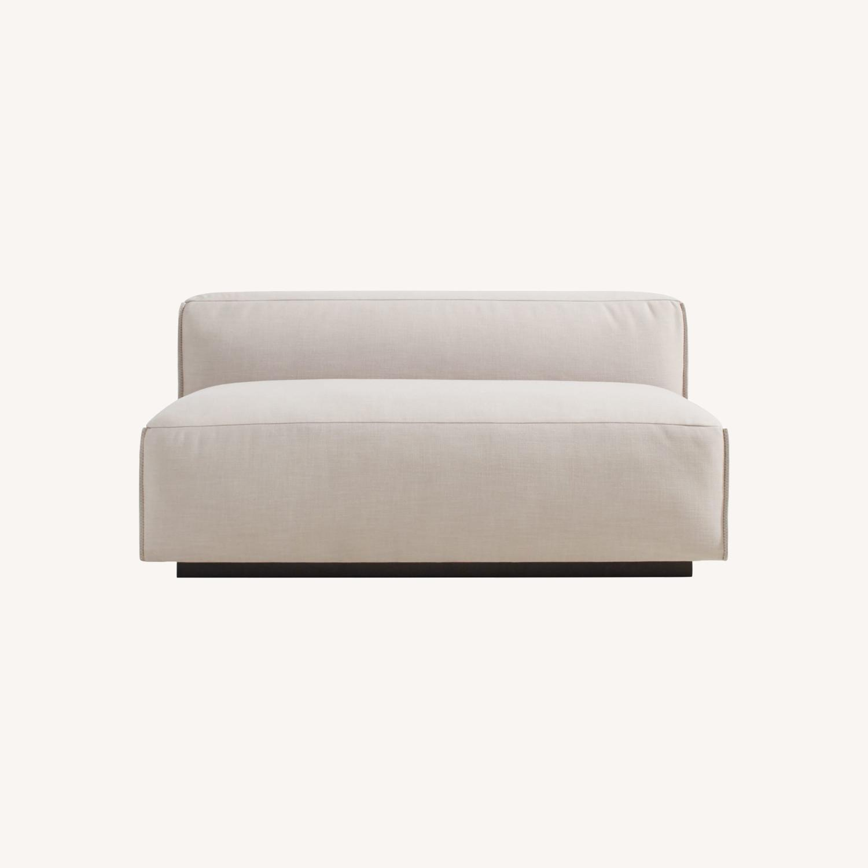 Blu Dot Cleon Armless Sofa - image-0