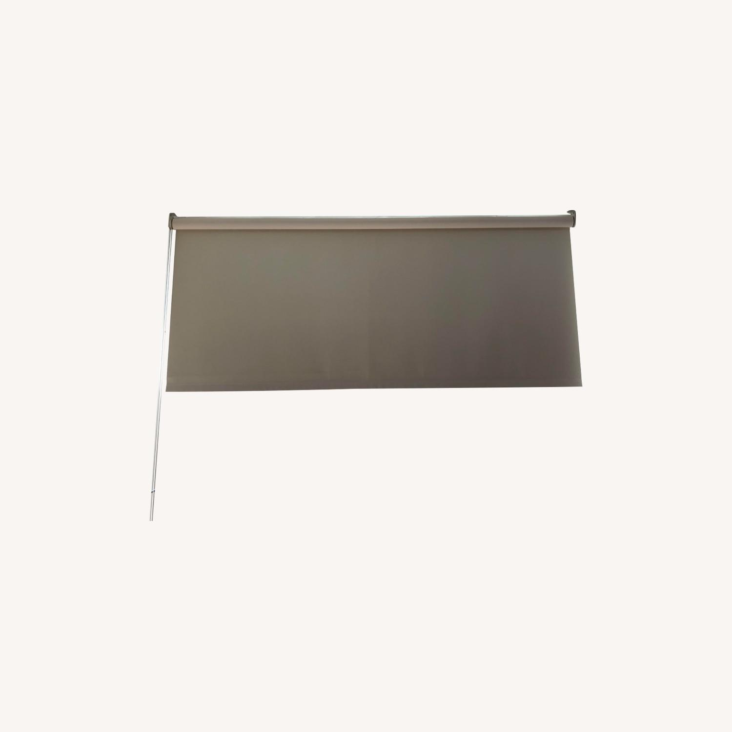 Home Depot Roll Down Black Out Shade - image-0