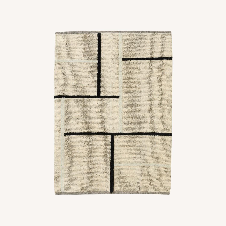 H&M Wool Blend Rug - image-0