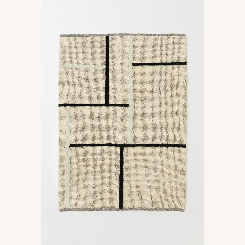 H&M Wool Blend Rug - image-1
